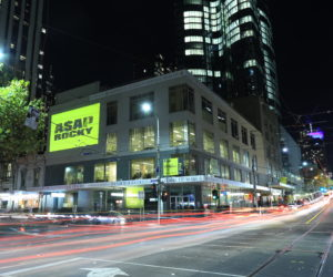 Street Promotions Australia Light projection 3