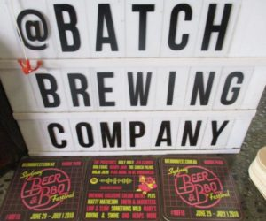 Street Promotions Australia Bar Coasters Batch Brewing Company