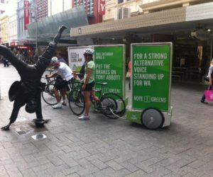 Street Promotions Australia Enviro Cycle Ad Pods (3)