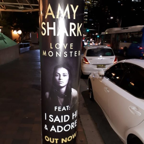 Street Promotions Pole Posters Amy Shark