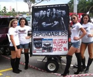 Street Promotions Australia Trike 4 Media The Expendables