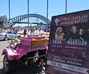 Street Promotions Australia Trike 4 Media