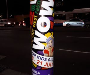 Wow Festival, liverpool pole poster