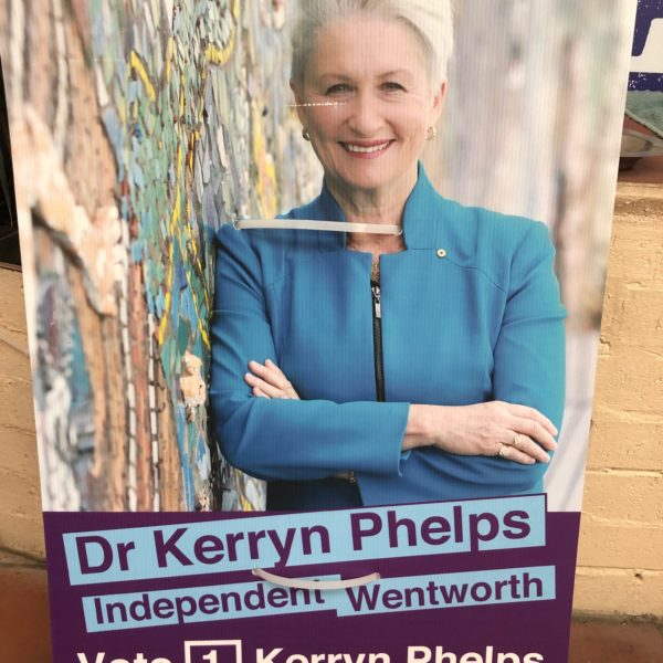 Dr Kerryn Phelps Wentworth Election 2018 Campaign
