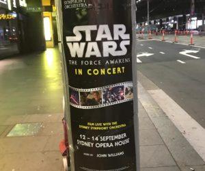 Star Wars Pole poster